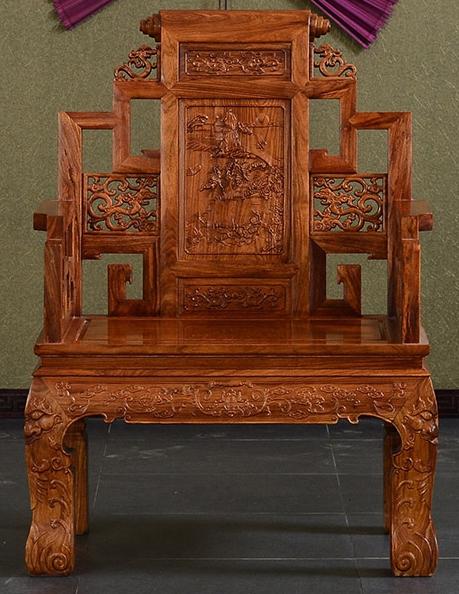 """""""奥哲中式红木大班椅""""红木家具价格多少钱?"""