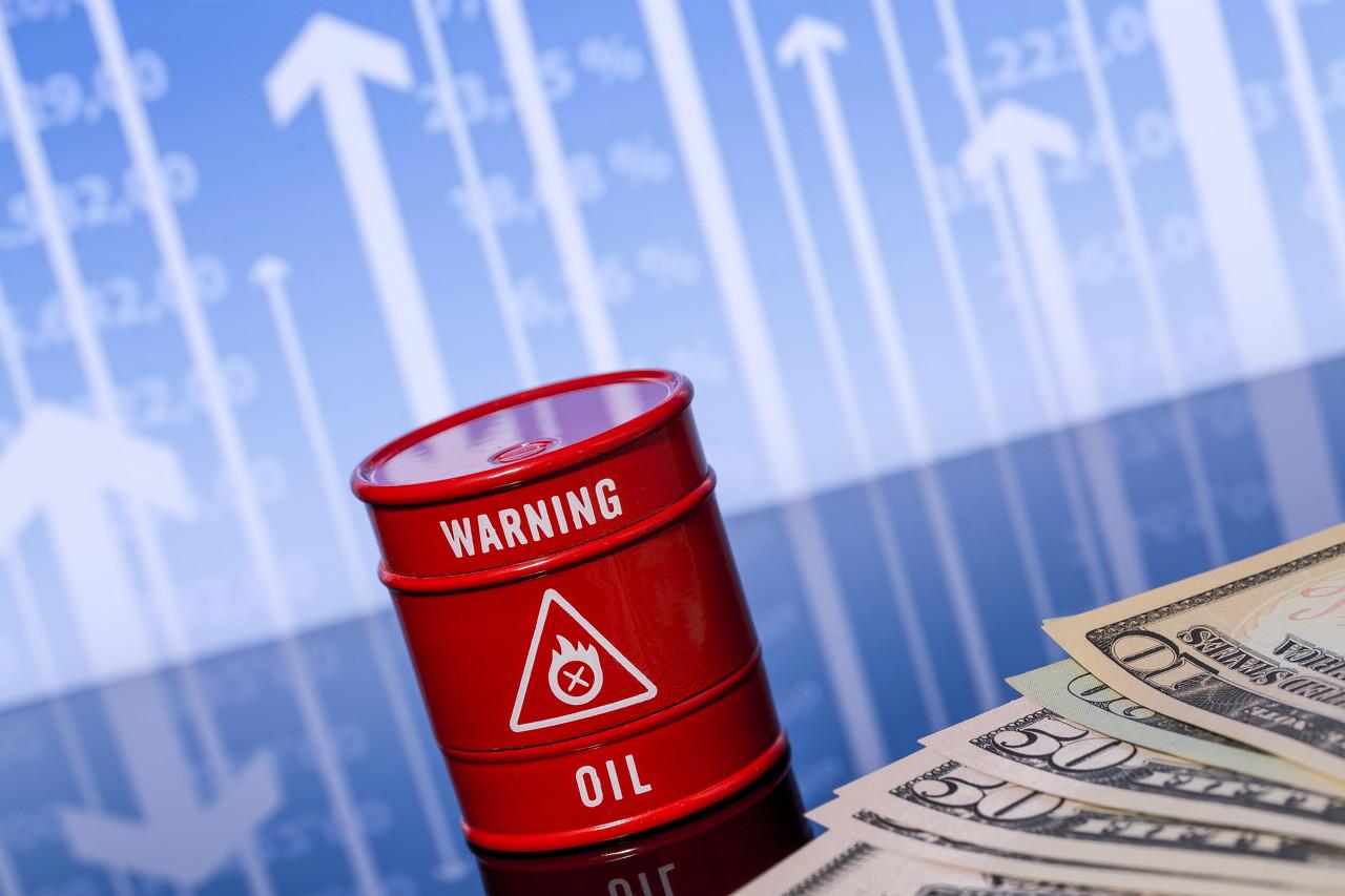 股市走高美元上行势弱 原油恢复涨势