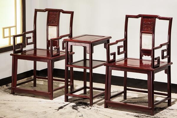 """""""文溢酸枝木圈椅""""红木家具及价格"""