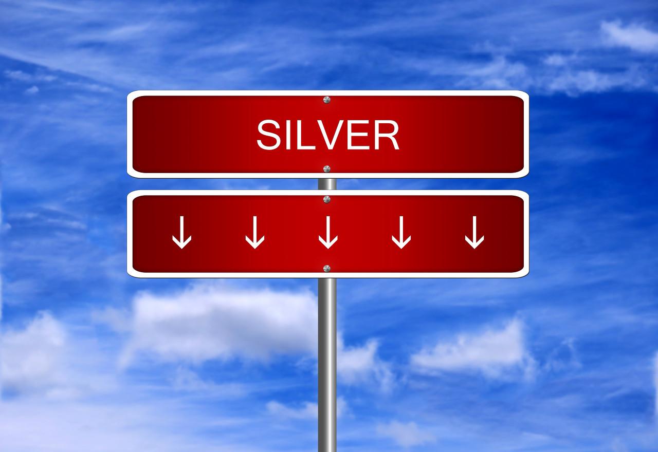 美联储承认经济放缓 国际白银遭遇重挫