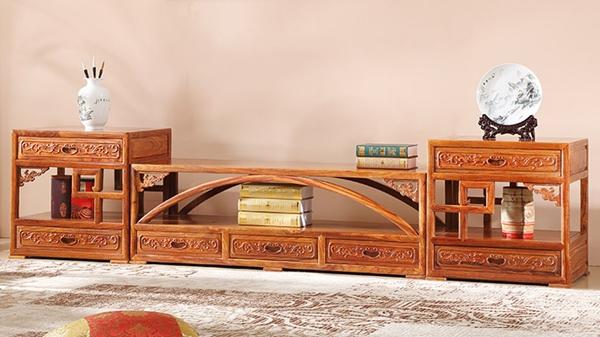 """""""雅立方红木电视柜""""红木家具的价格"""