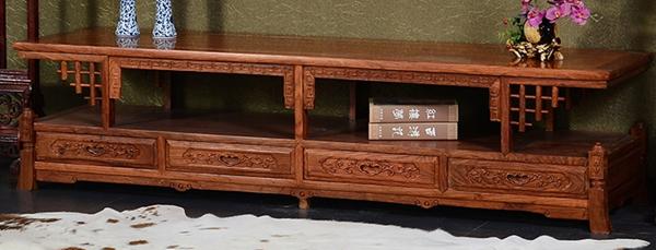 """""""奥哲古典花梨木电视柜""""红木家具的价格"""
