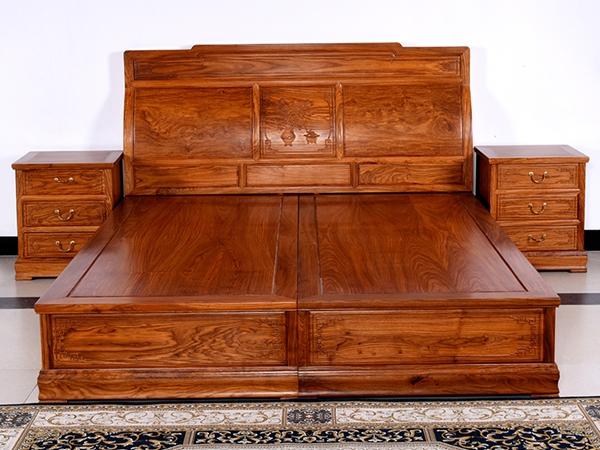 """""""汇艺园红木双人床""""红木家具的价格"""