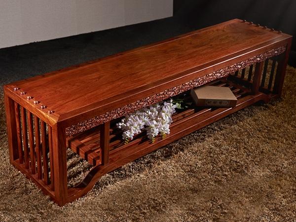 """""""爱尚妮私实木床尾凳""""红木家具的价格"""