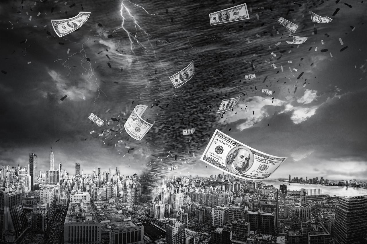 美债受收益率波动剧烈 美元指数回到91关口上方附近