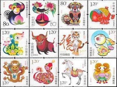 邮票价格及图片大全_第三轮生肖大版邮票价格多少(2021年4月23日)