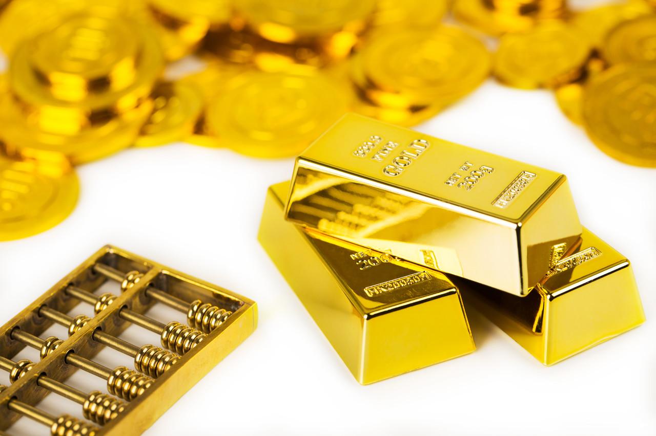 受美国经济数据利好推动 黄金回落走震荡