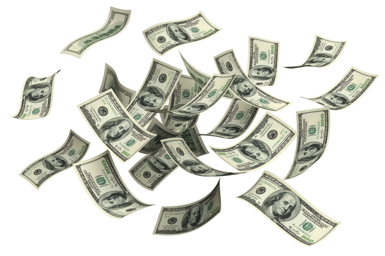 美元再度下跌 人民币再度呈直线回升