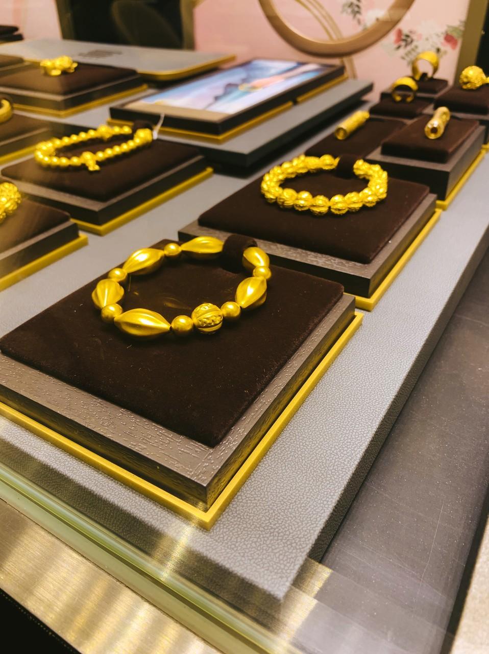 金饰需求表现强劲 3D硬金首饰受欢迎