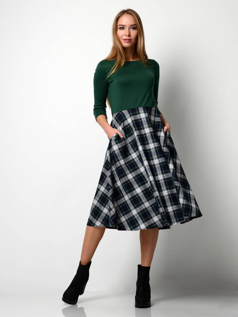 搭配一条裙子 显高又显瘦