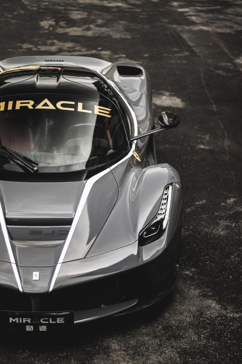 今晚法拉利正式发布搭载V6发动机的新款插电式混动跑车