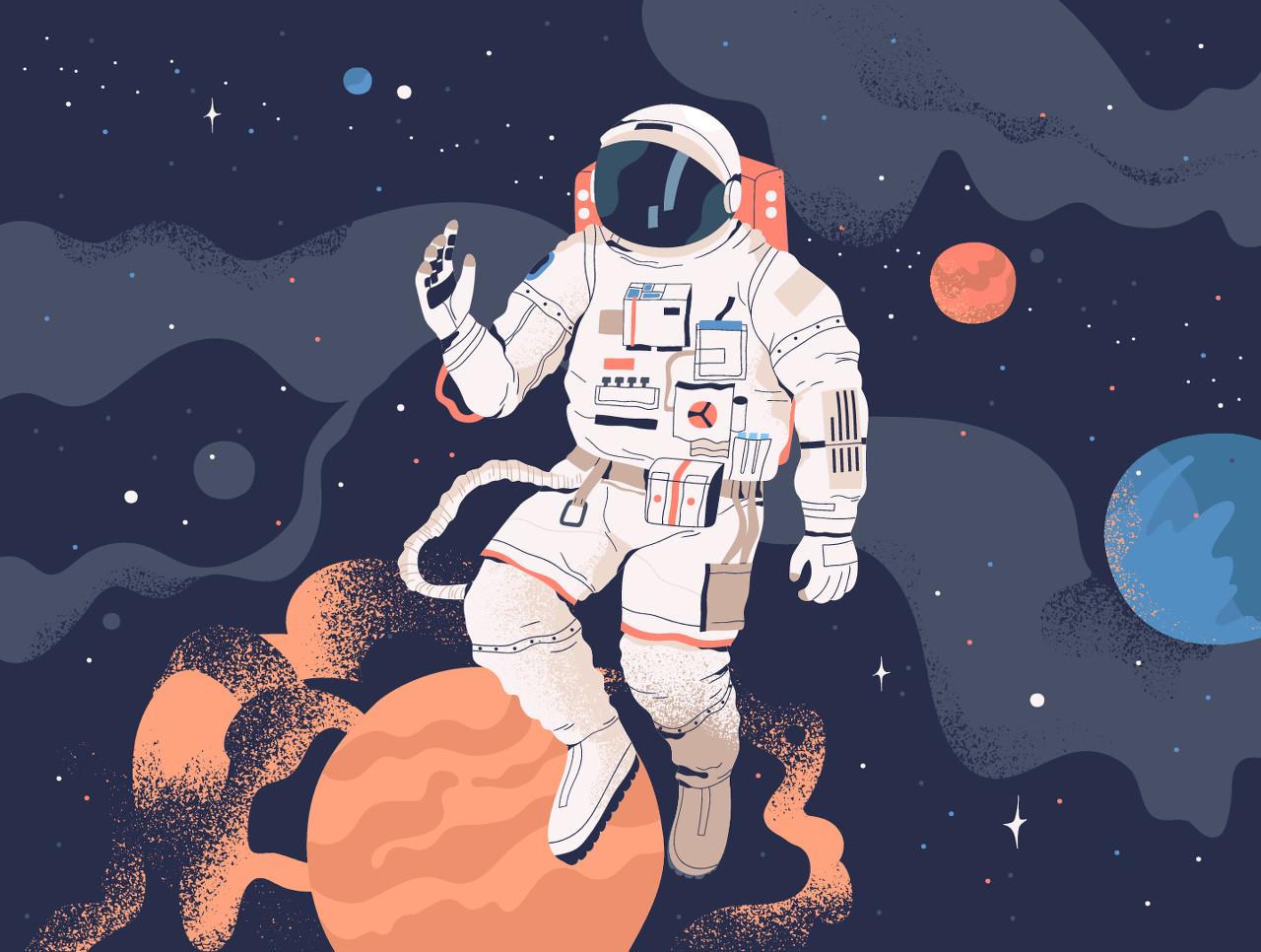 航天员在太空是怎么睡觉的