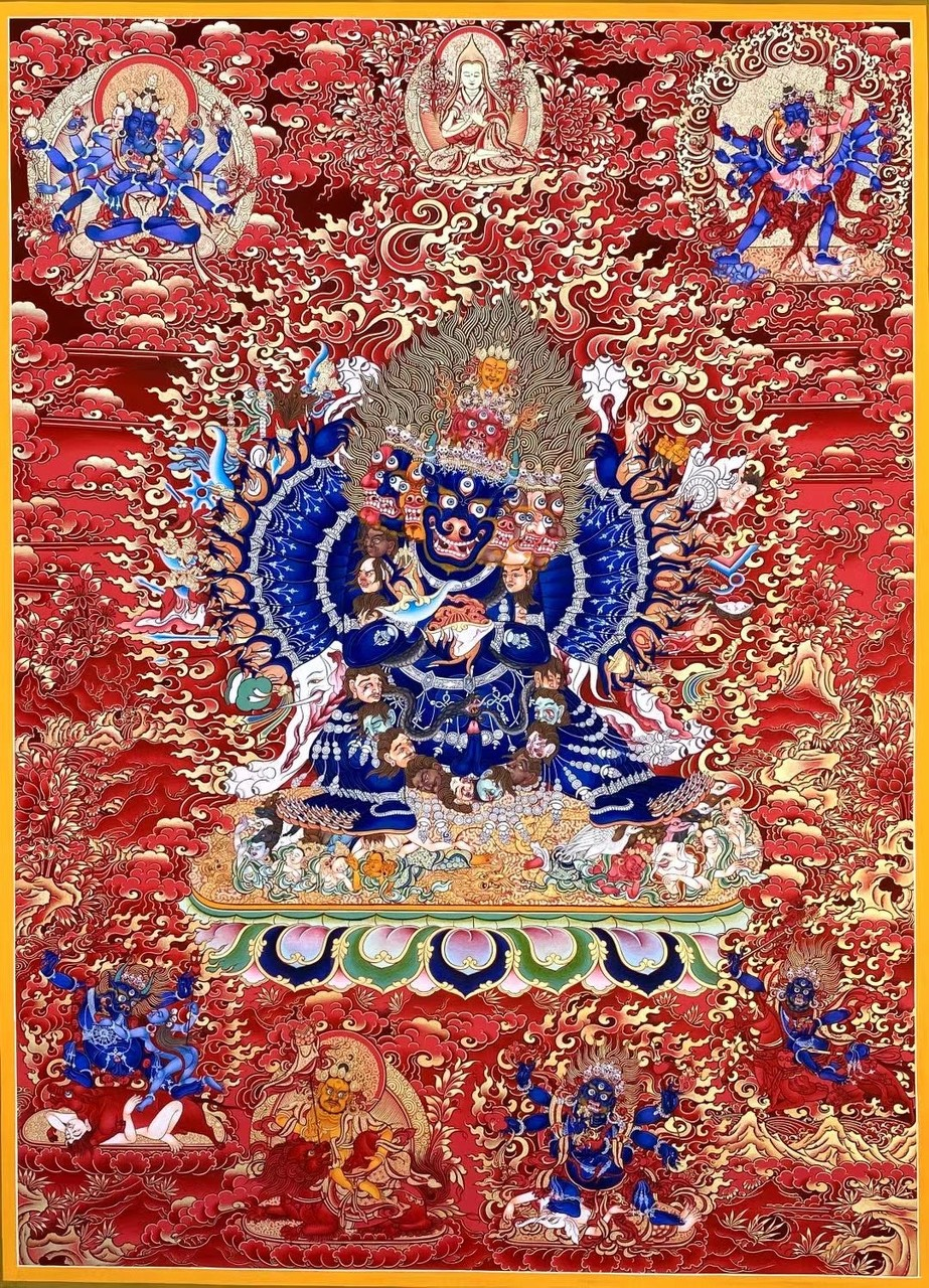 梵韵丹青.娘本唐卡艺术展在上海开展