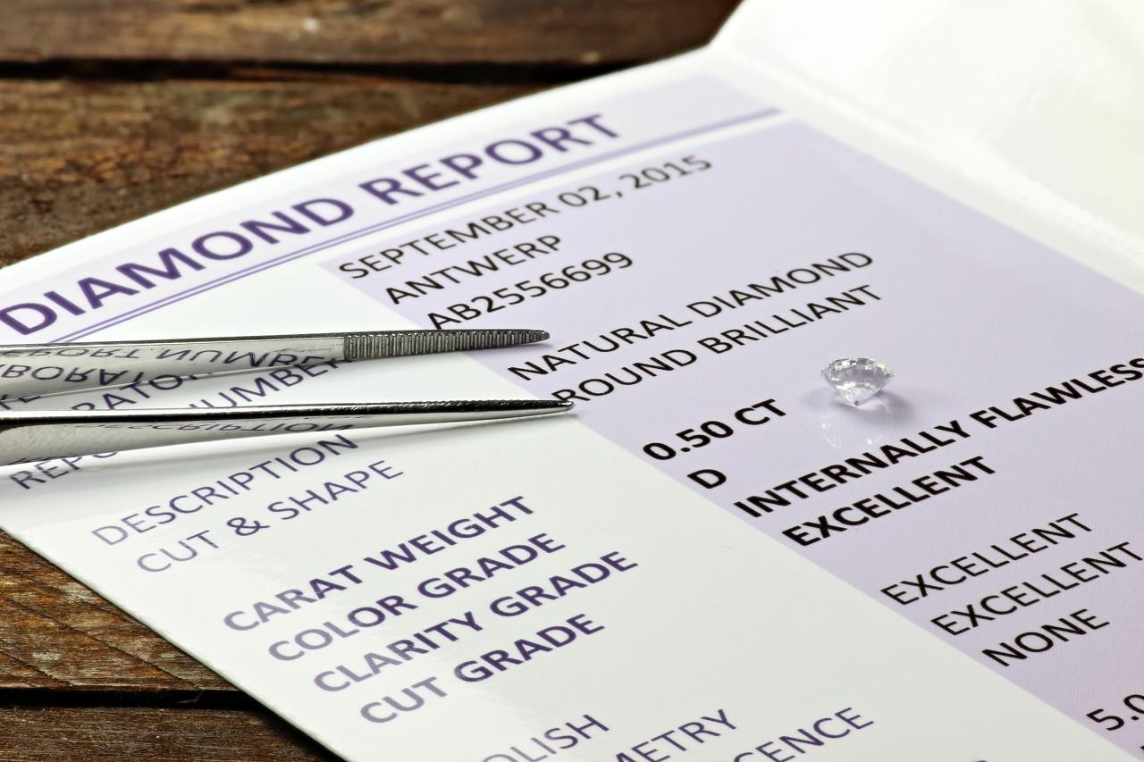 国内最权威的钻石等级证书—NGTC钻石证书