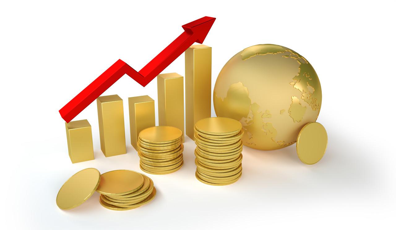 """美股美元""""比翼齐飞"""" 现货黄金触底后开始拉升"""