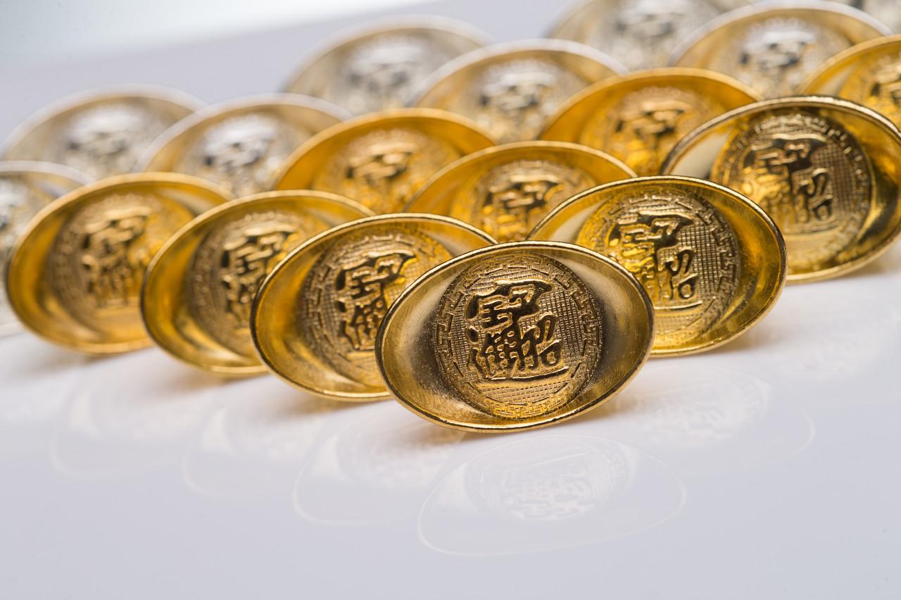 纸黄金趁势连阳上探 金价短线走势分析