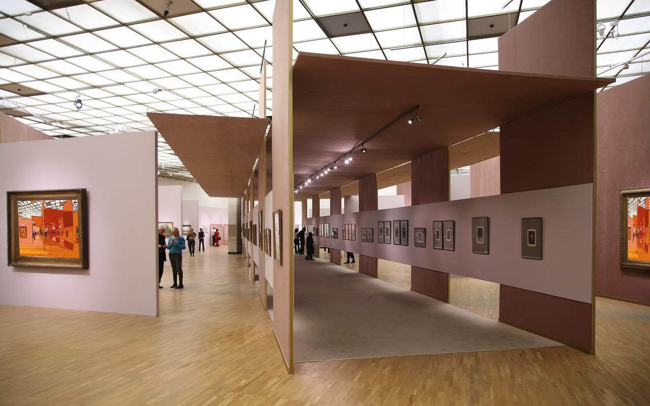 陈树中油画作品展在中国美术馆开幕