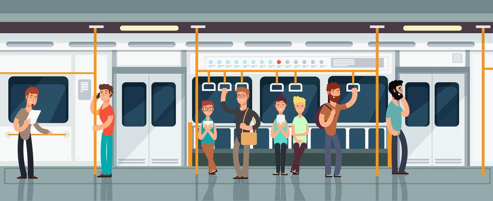 男孩地铁荡秋千家长一旁鼓励 还抱着孩子往上送