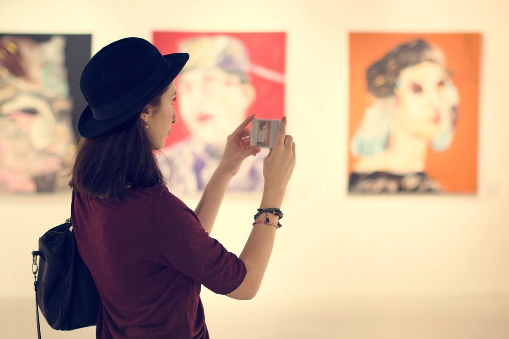 """""""一幅画的展览——郁涛""""在长沙市湘域智慧蚌空间开幕"""