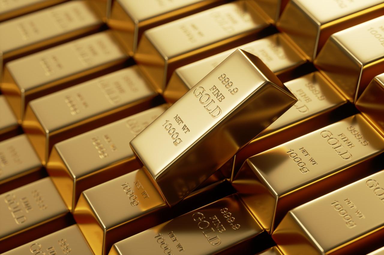 股市美债收益率下滑 黄金坚守1800