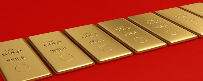 黄金遭受数据压迫直线大跌行情