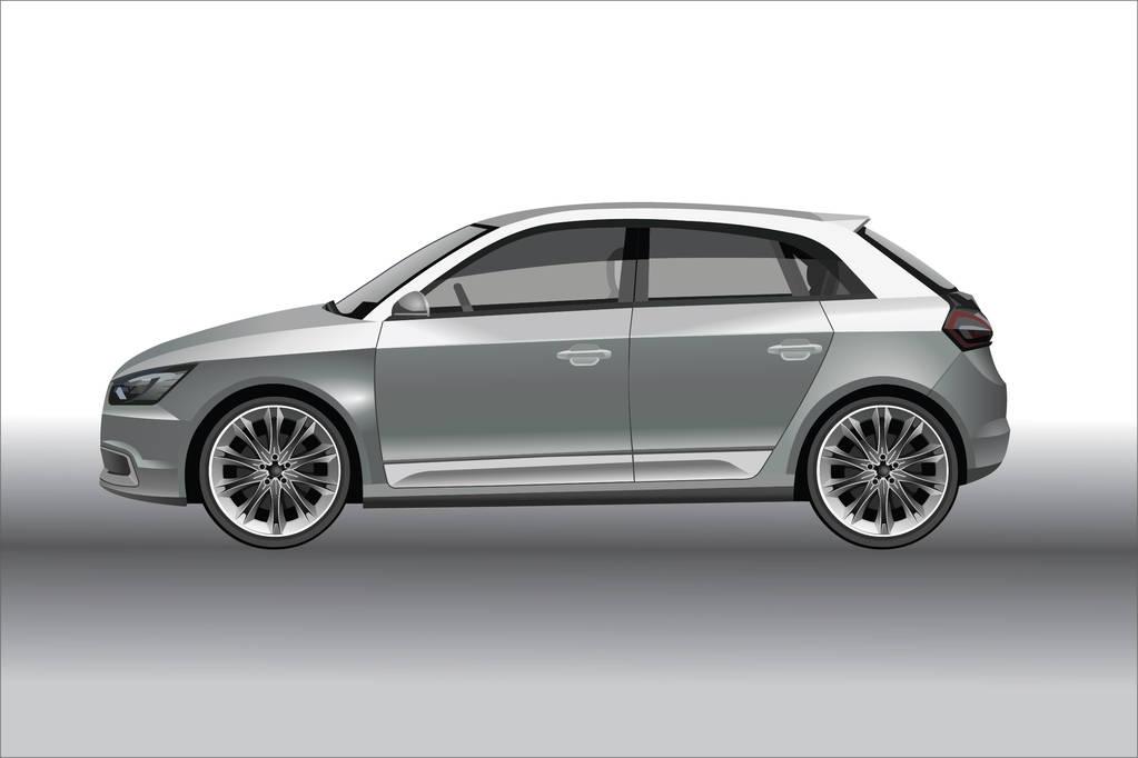 全新奥迪A7L被定位C+级性能行政车型