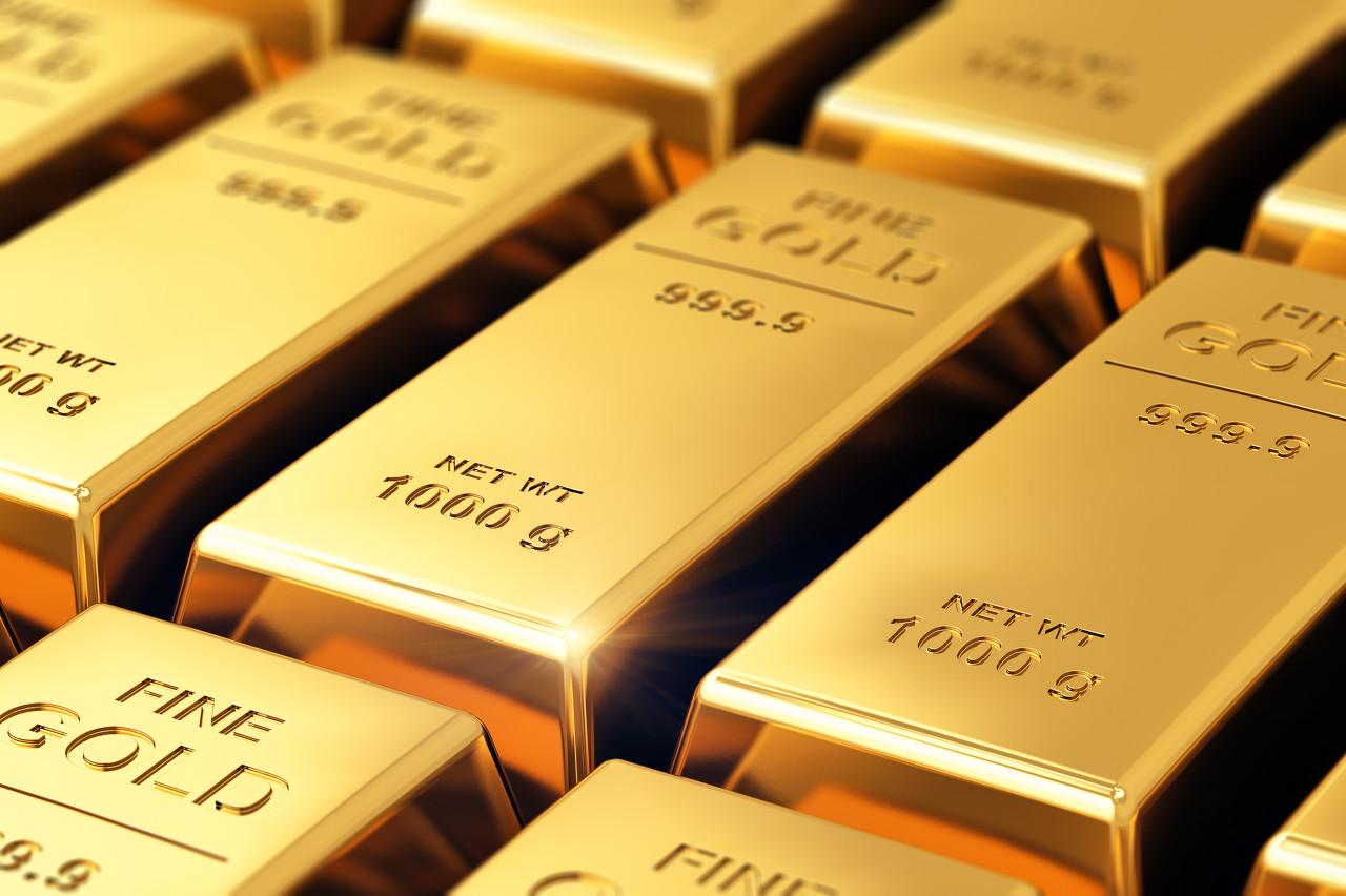 美股集体下跌支撑金价 现货黄金日线小涨