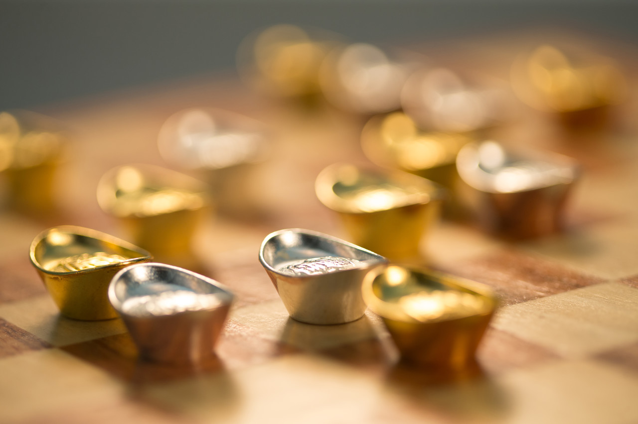 纸黄金借助通胀大涨 今日金价涨势为主