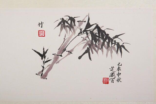 茗壶秋月竹