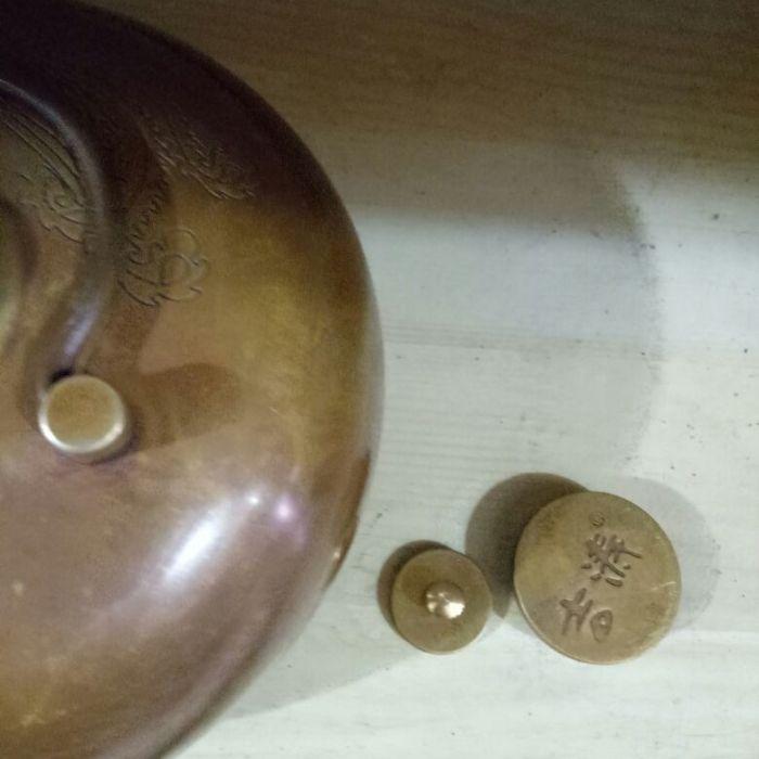 纯铜制暖水壶