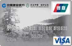 建行红松龙卡(银联+VISA)