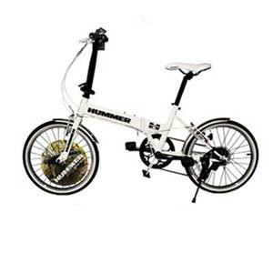 HUMMER折叠自行车20寸7速快装休闲代步单车男女LT-20F