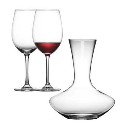 肖特圣维莎酒杯醒酒器三件套(2个红酒杯+1个醒酒器)