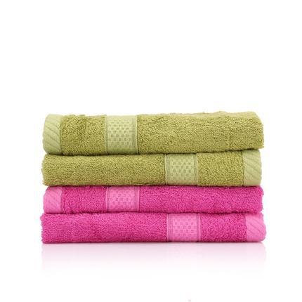 馨亭馨生活竹纤维方巾4件套