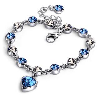 静风格十二星座水晶手链女施华洛世奇元素简约