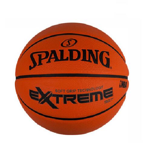 斯伯丁Extreme砖色超软发泡橡胶篮球
