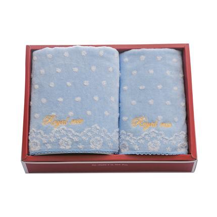 多样屋ROYAL ROSE毛巾礼盒(1方1面)