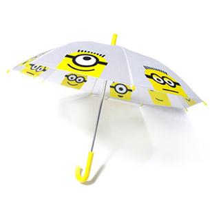小黄人儿童直骨伞