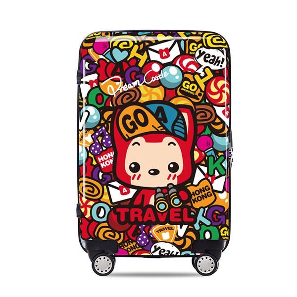 gotrip阿狸香港之旅女旅行箱