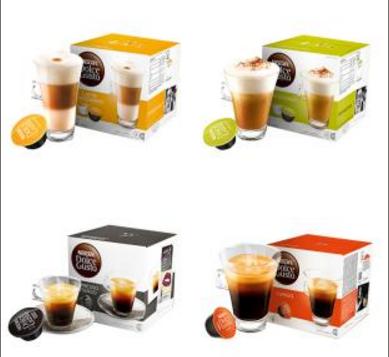 雀巢 多趣酷思DOLCE GUSTO 卡布奇诺咖啡 16粒装