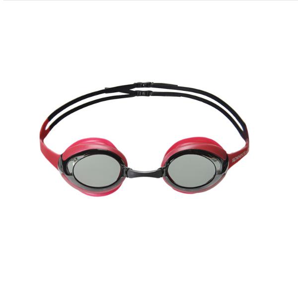 SPEEDO中国红高清防雾防水眼镜