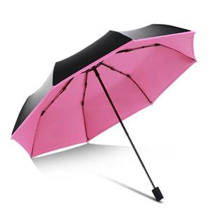 天堂伞防紫外线黑胶晴雨伞