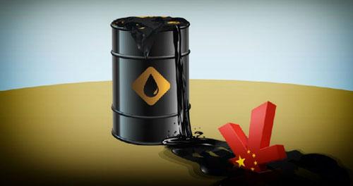 中国原油产量
