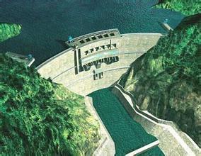 图库鲁伊水电站