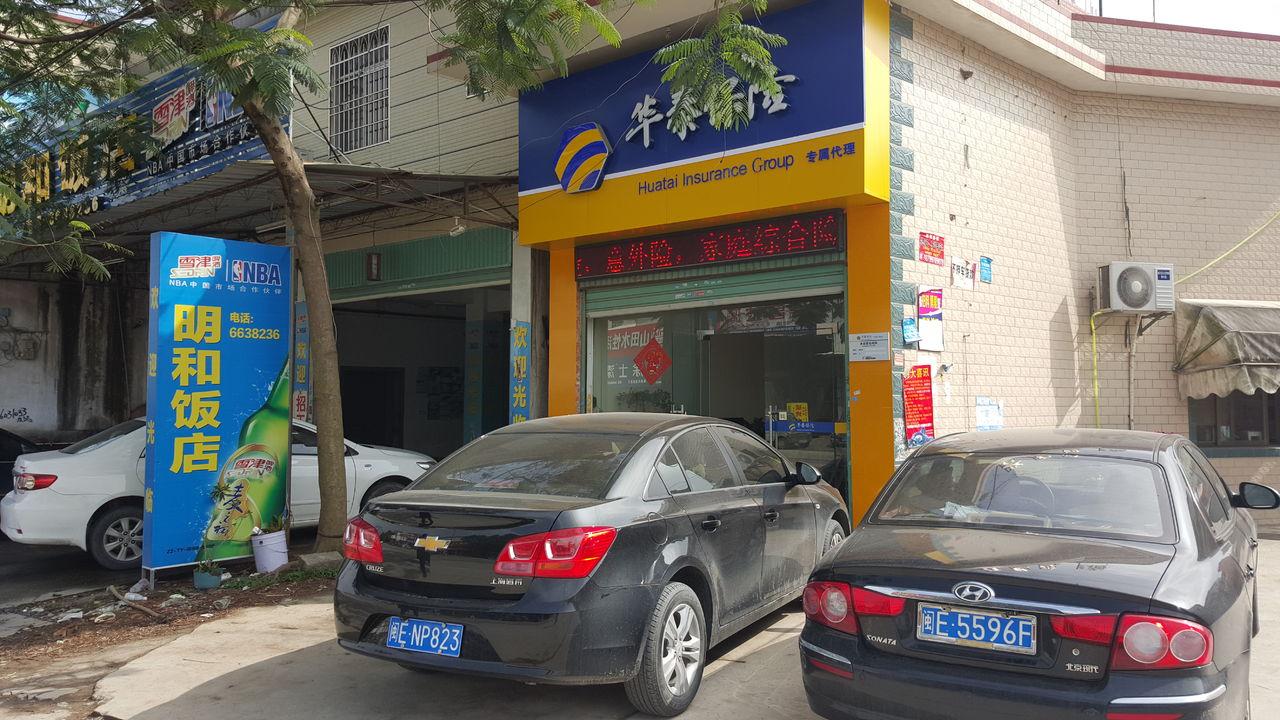 华泰保险(新塘营业部)