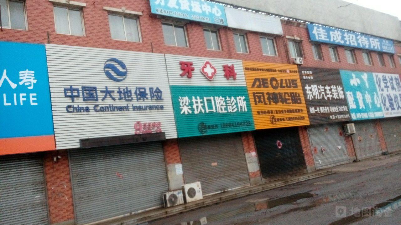大地保险(辽阳县中心医院口腔社区服务站东南)
