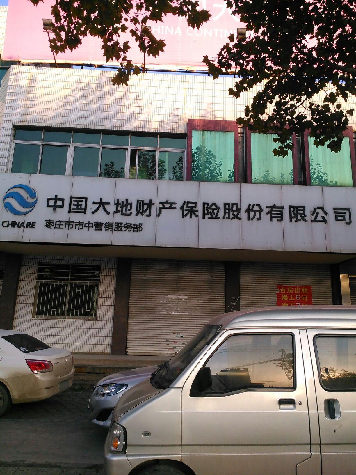 大地保险(枣庄市市中营销服务部)