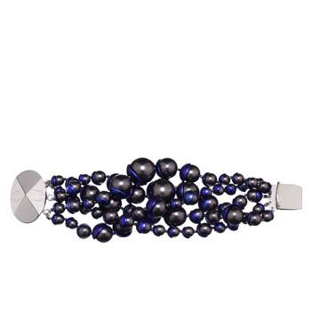 Dior迪奥Christian Dior海蓝色珠串手链