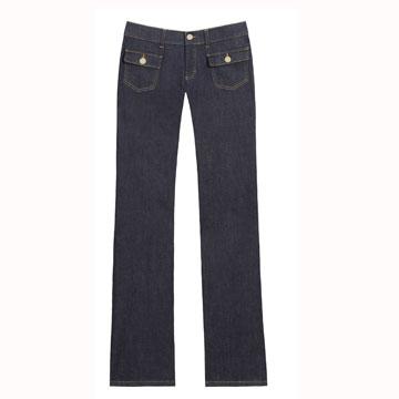 Mulberry 藏蓝色基本款牛仔裤