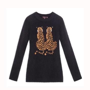 Mulberry 黑色毛线衫